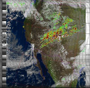 NOAA 19 at 04 Nov 2013 20:41:52 GMT