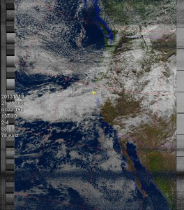 NOAA 19 at 19 Nov 2013 21:19:45 GMT