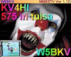 sstv evil clown