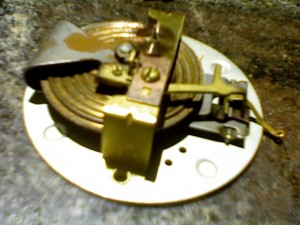 1949 taylor fishing barometer