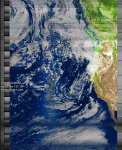 NOAA 19 at 01 Jun 2015 22:23:30 GMT